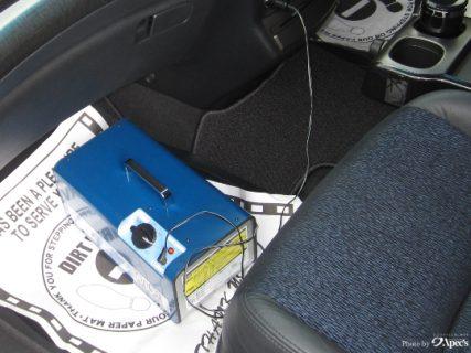 車内の革の汚れと脱臭