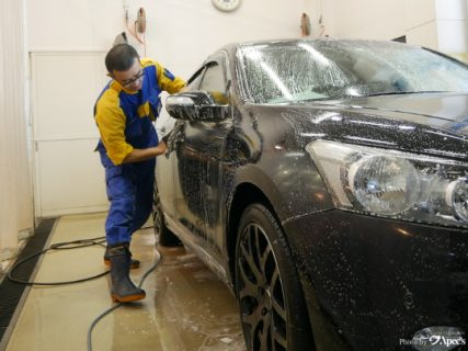 洗車のポイント