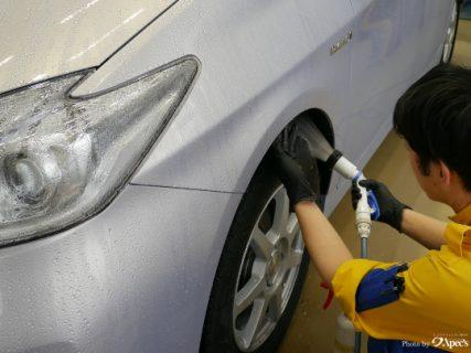 洗車一つ一つの拘り