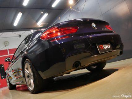 BMW6グランクーペ「人生と共に歩む愛車を綺麗に。」