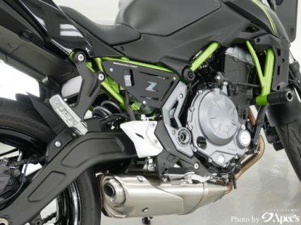カワサキZ650「バイクコーティングで煌びやかな輝きを」